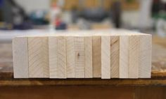 """[Click for full-size] Learn how to turn your wood """"end grain up"""" to create a traditional, heirloom-quality butcher block cutting board."""