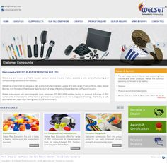 WELSET PLAST EXTRUSIONS Website Developed by Dots Info Systems (I) Pvt.Ltd. Website Development Company, Innovation, Dots, Stitches, Polka Dots