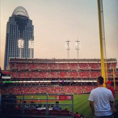 Cincinnati, I went to a reds game when I was a kid. Must have been in the old stadium