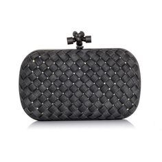 Bottega Veneta Woven metal clutch ($2,686) ❤ liked on Polyvore