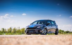Download wallpapers AIRTEC Motorsport, tuning, Ford Focus RS, 2017 cars, new Focus RS, Ford