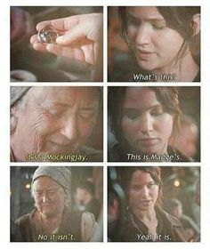 Katniss, there is no Madge.