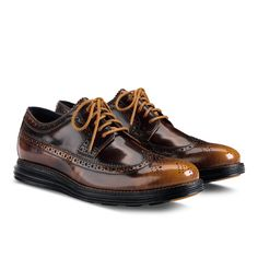 c80e2853ed1 Cole Haan LunarGrand Long Wingtip Navy Chinos, Best Shoes For Men, Sock  Shoes,
