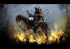 The second horseman of the apocalypse by *SPartanen on deviantART