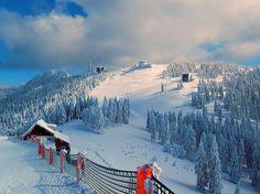 Poiana Brasov ♦ Romania (by Gigi Sirbu) Brasov Romania, Visit Romania, Holiday Places, Tourist Places, Central Europe, Bucharest, Winter Landscape, European Travel, Places To See