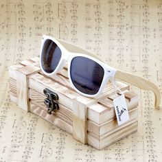 Bobobird Bamboo Wood Polarized Sunglasses With Gift Box