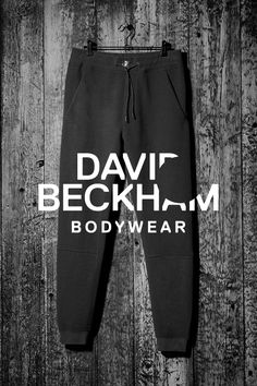 Black sweatpants, Bodywear Selected by Beckham. | H&M For Men