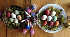 Dye your Easter Eggs Naturally using common kitchen ingredients