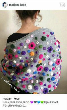 4907 likes 60 comments Poncho Crochet, Mode Crochet, Freeform Crochet, Knitted Shawls, Crochet Scarves, Crochet Clothes, Knitting Projects, Crochet Projects, Knitting Patterns