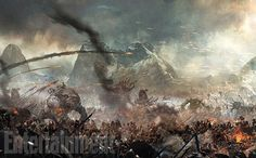 Designing and creating the 45-minute fight at the climax of The Hobbit: The Battle of the Five Armies is much like preparing for an actual full-scale assault.