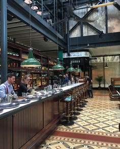 Beautiful decor and even better food in Dishoom at Kings Cross