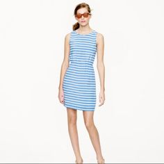 J. Crew Dree In Stripe Dress Silk Summer #A5