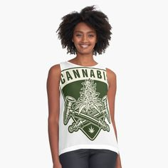 New T Shirt Design, Shirt Designs, Cannabis, Chiffon Tops, Tank Man, Printed, Awesome, Mens Tops, Stuff To Buy