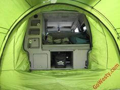 ArcHaus Side Tent - GoWesty Camper Products - parts supplier for ...