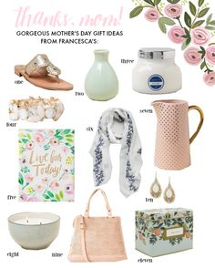 Mother's Day Gift Guide ft. unique & beautiful pieces from @shopfrancescas #ad