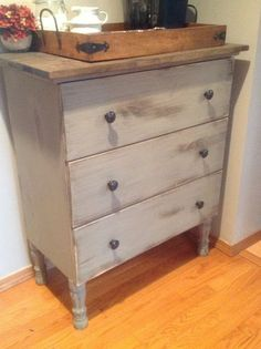 Materials: Tarva dresser, new legs, paint, wood boards for topDescription: Using a Tarva dresser as a blank canvas. We first replaced the legs with curvy new le