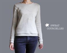 SWEAT Courcelles - patron disponibles sur le blog ! pattern available on the blog www.cozy-little-world.com
