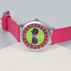 India Circus Pink C est La Vie Unisex Wrist Watch