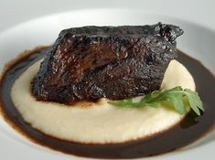 Daniel Boulud's Beef Short Ribs..Had these at his restaurant at the Wynn in Vegas.  My hubby's fav! Pinning this for him