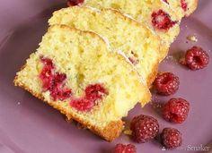 Limonkowo-jogurtowe ciasto z malinami