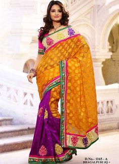 Blog - Evergreen Indian Fashion - Bhagalpuri Silk Sarees : Part 2