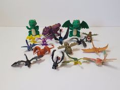 """How to Train Your Dragon 2 Action Figure Lot Miniature Mini 16 1""""-4"""" Toothless #SML"""