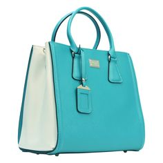 Luxury hard Leather Partician Two Tone Tote Bag $70.91   http://www.amazon.com/gp/product/B00CAMLM80