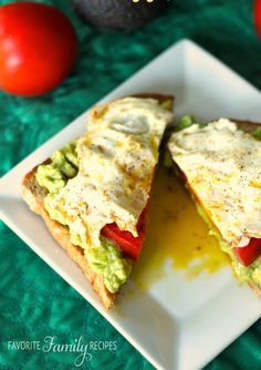 Breakfast is the most important meal of the day, but sometimes your only options are quick and simple. This open-faced egg sandwich with avocado has it all, and no, this isn't too good to be true!