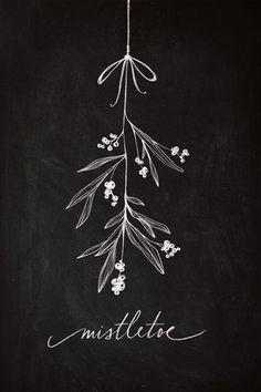 God jul, kära läsare! Jag hoppas ni får en riktigt mysig julhelg med nära och kära och kan ladda batterierna på bästa sätt inför 2015. Här kommer en julhälsning i form av en virtuell mistel för lite...