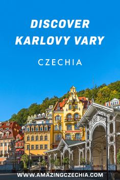 Karlovy Vary (a. Carlsbad) is a town in the west of Czechia. It is very a famous spa resort, visited by many celebrities from all over the world. German Names, International Film Festival, Resort Spa, Czech Republic, All Over The World, Big Ben, Cities, Wanderlust, Lost