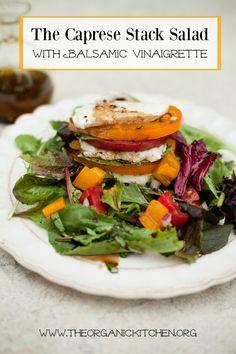 The Caprese Stack Salad