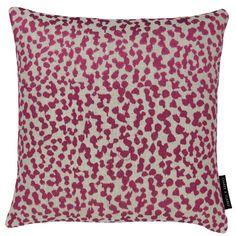 Lynx Cushion Berry cushion by Clarke