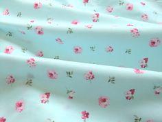 ZY DIY SKY BLUE flowers cotton fabric Textile kids 100% cotton fabric Quilting Bedding Baby Fabric Patchwork 160cm x 50cm