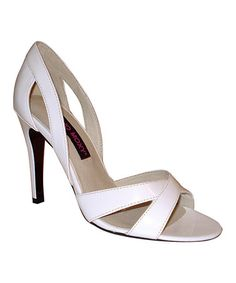 Built to last in quality faux leather, these sandals feature a lightly padded footbed that guarantees a soft stride. Height-boosting heels and strappy, open-toe uppers lend plenty of fashionable appeal. Cheap Shopping, Bargain Shopping, Alternative Bride, Perfect Bride, Resort Wear, Open Toe, Sandals, My Style, Heels