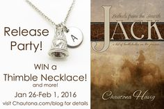Join us for Chautona Havig's new book release: Jack!!!