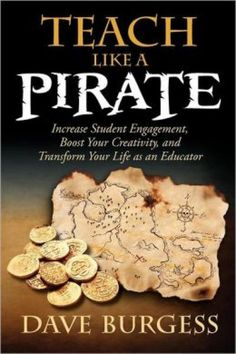 Teach Like a Pirate - I am currently reading this and joining a blogging book study about it.  If you want to see what my thoughts are, come on over to www.teachstitchandparent.blogspot.com.