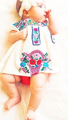 c1aec45f4 72 mejores imágenes de Mexican Baby Dress