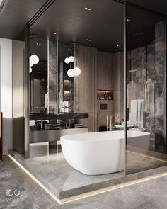 Bathroom Design Luxury, Bathroom Design Small, Luxury Interior Design, Modern Bathroom, Bathroom Designs, Home Room Design, House Design, Cabin Design, Toilet Design