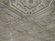 Faux tin ceiling tiles and so much more at the website.