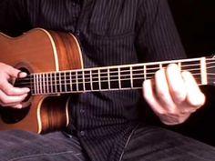 Beginning fingerstyle guitar : Learn Freight train 1 + tablature - YouTube