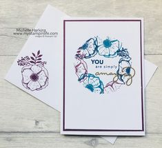 Amazing You Stampin' Up! Sale-A-Bration