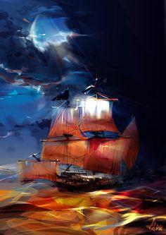 Poesía. Canción del pirata