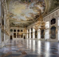 Royal Hall, Hofburg #Innsbruck. #Austria