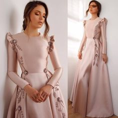 Latest & Trendy Dresses Styles for 2019 Girls Are you looking the Perfect outfit styles for yourself? just browse here and see the most popular ideas of dresses to make your look more beautiful. Hijab Evening Dress, Hijab Dress Party, Pink Evening Dress, Cheap Evening Dresses, Evening Gowns, Long Dress Party, Muslim Evening Dresses, Afternoon Dresses, Trendy Dresses