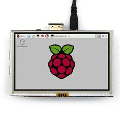 5 pouce LCD HDMI Écran Tactile TFT LCD Module de Panneau 800*480 pour Banana Pi Framboise Pi 2 Raspberry Pi 3 Modèle B/B +