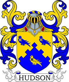 Hudson Coat of Arms