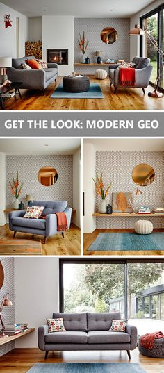 Find out how to get our scandi inspired modern geo look in your