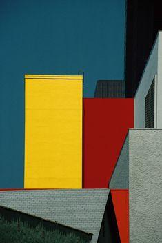 Франко Фонтана и его концепции цветных  линий