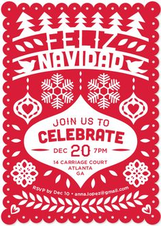Feliz Navidad Fiesta Banner by Shari Margolin for minted