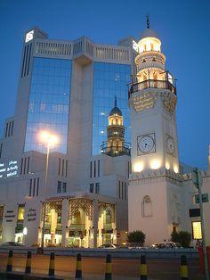 Batelco Building and Suq Mosque, Manama - Bahrain